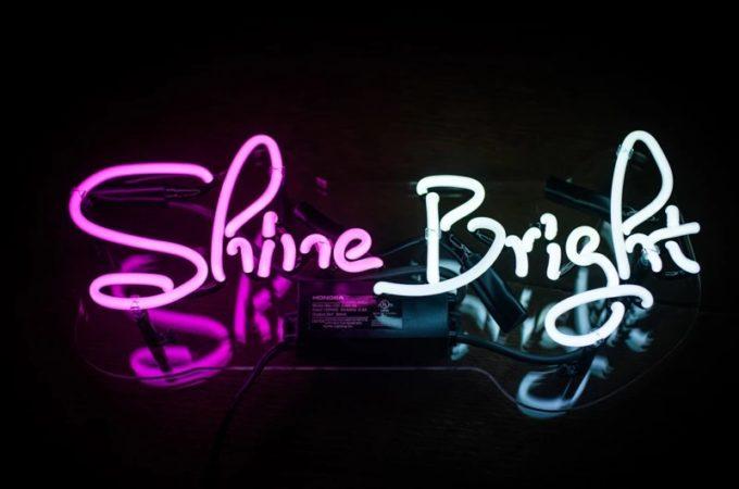 Neon Lights Shine Bright