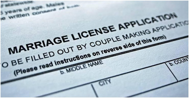 Why do I need a marriage license