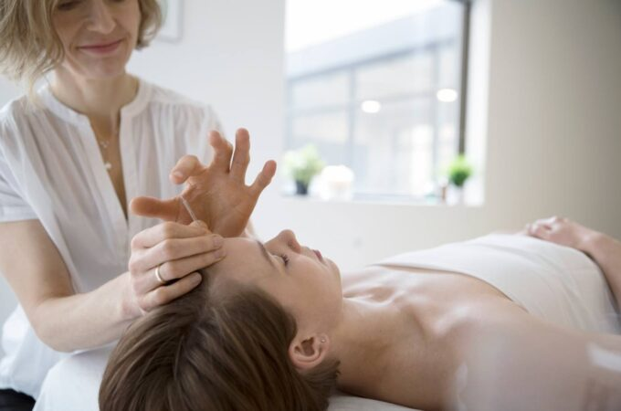 It is a method identical in leading to acupuncture.
